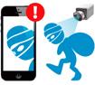 Alarma videovigilada en el movil