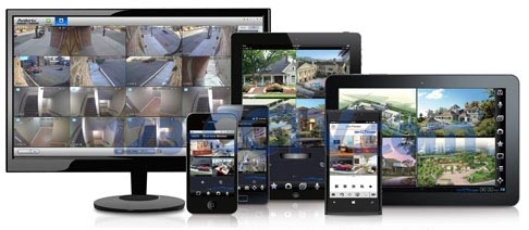 CCTV en iphone android windows
