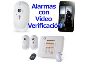 Kit inalámbrico con video verificación VISONIC