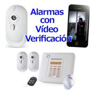 Kit inalámbrico con video verificación VISONIC