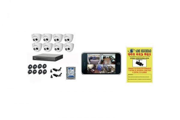 kit 8 cámaras