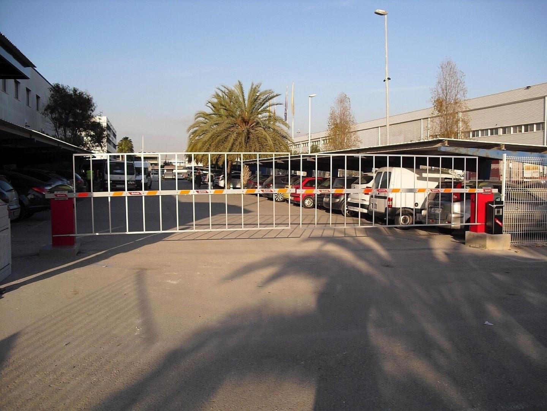 barreras para vehículos