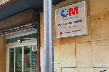 Centros de salud Comunidad de Madrid
